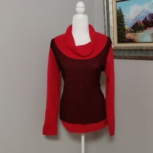Calvin Klein | Black and red sweater
